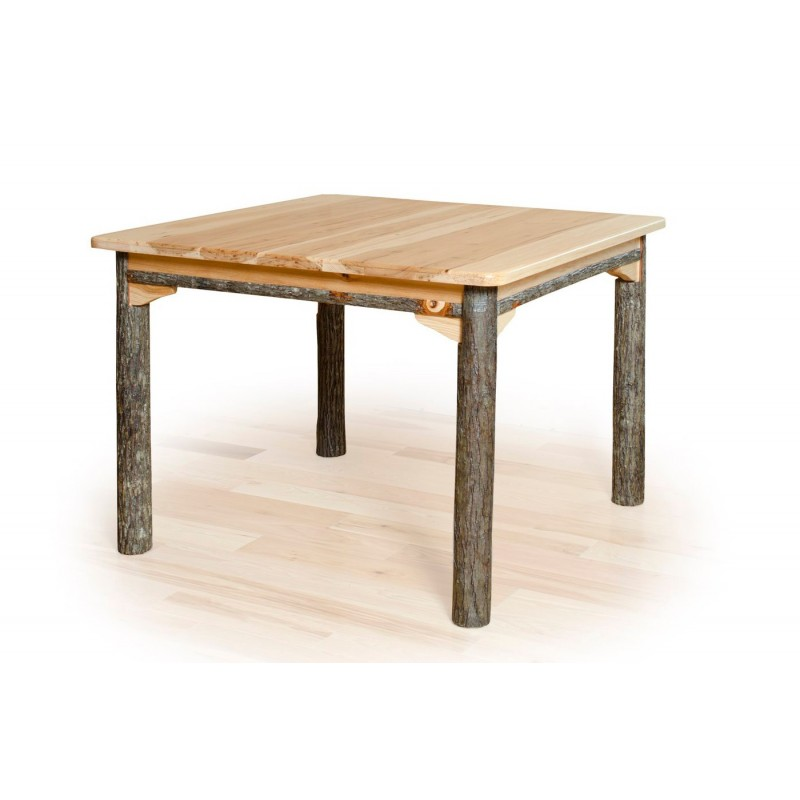 """All Hickory 42"""" x 42"""" Table"""
