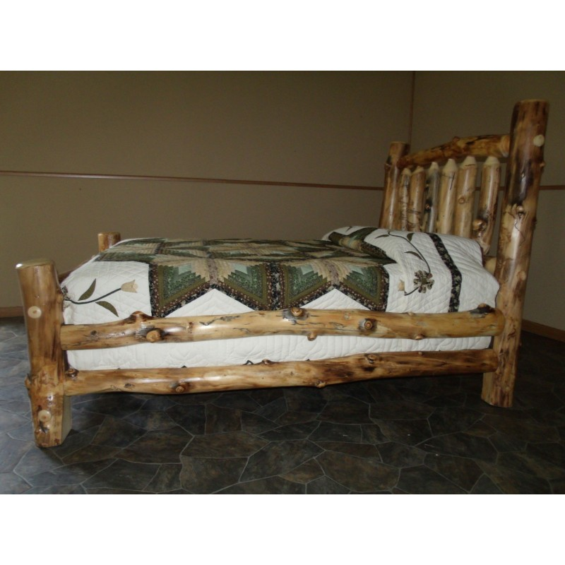 Aspen King Size Bed - Side View