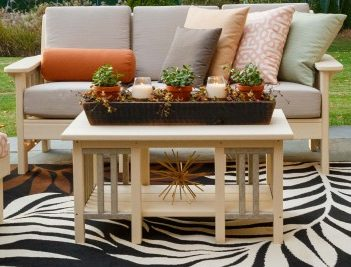 Finch Mission Deep Seat Coffee Table