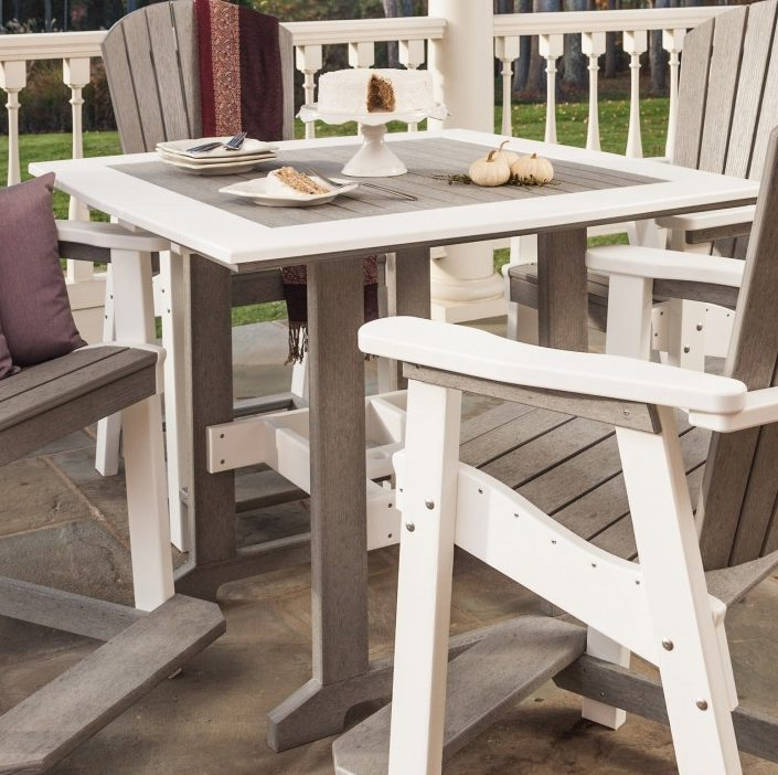 Finch Great Bay Square Table-Multiple Heights