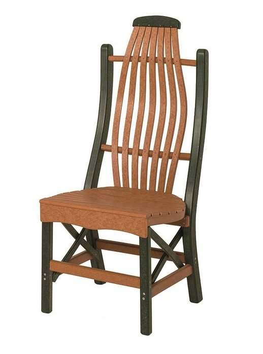 Poly Lumber Bentwood Style Side Chair