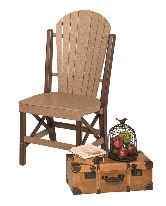 Poly Lumber Fanback Style Side Chair