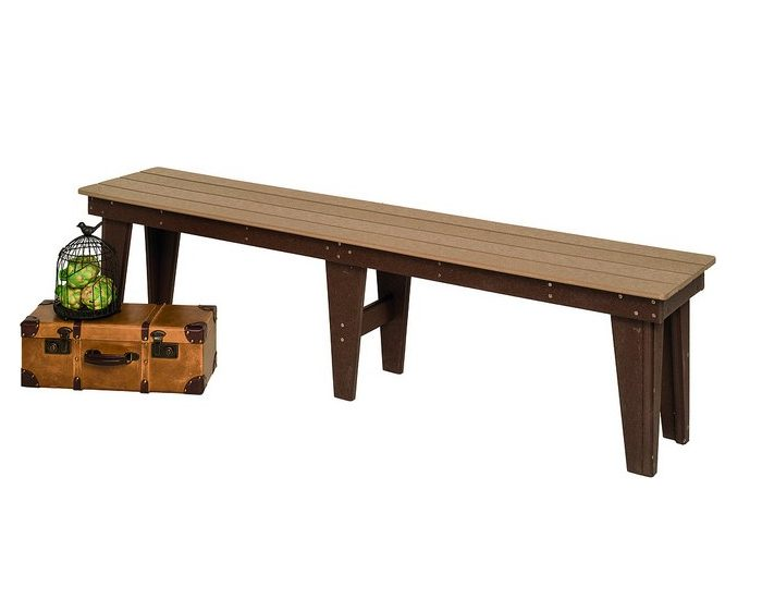 Poly Lumber Backless Benches – 4 Sizes