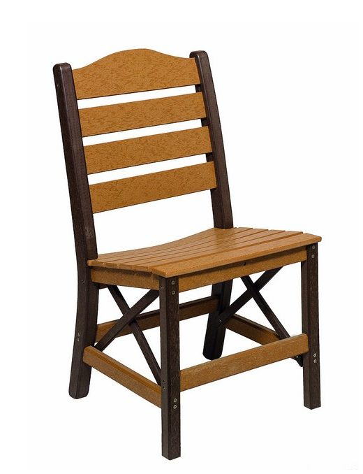 Poly Lumber Ladderback Style Side Chair