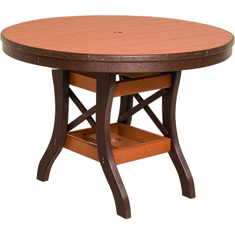 Poly Lumber Round Table 30″ Tall – 5 Sizes