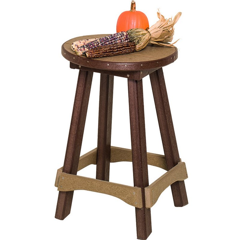 Poly Lumber Barstool (30″H) – Fits Pub Tables