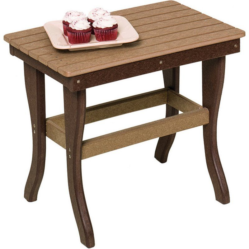 Poly Lumber 1 Tier End Tables