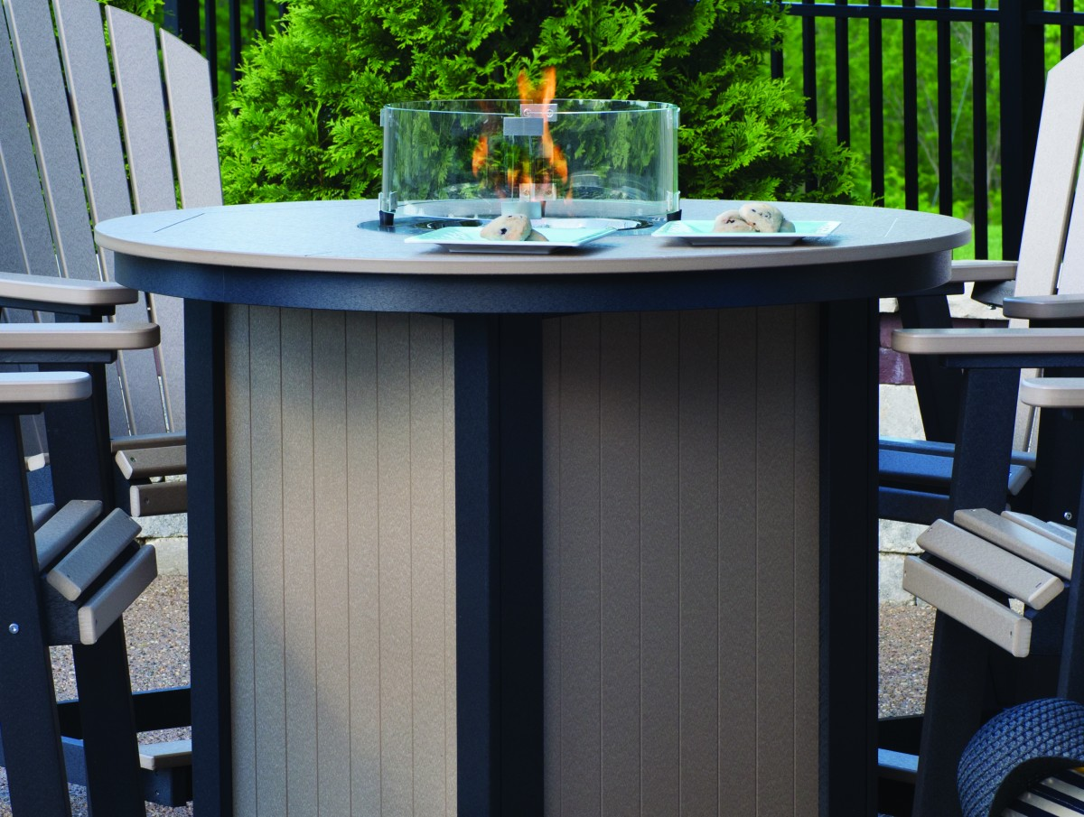 Berlin Gardens Donoma Round Fire Table