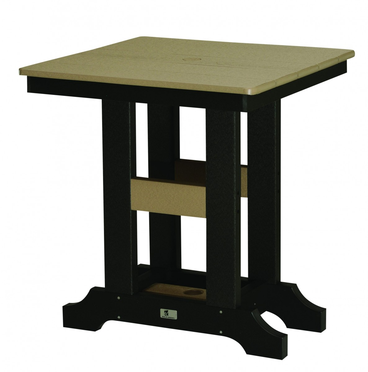 Berlin Gardens Poly Garden Classic 28″ Square Table