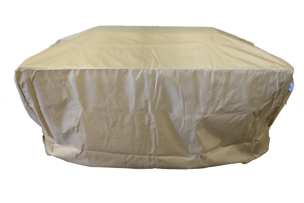 Berlin Gardens Donoma Rectangular Fire Pit And Fire Table Cover-Multiple Sizes
