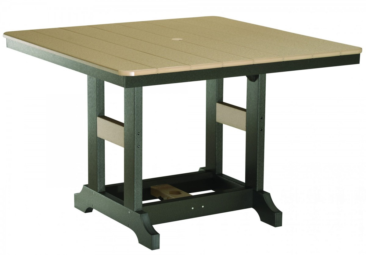 Berlin Gardens Poly Garden Classic 44″ Square Table
