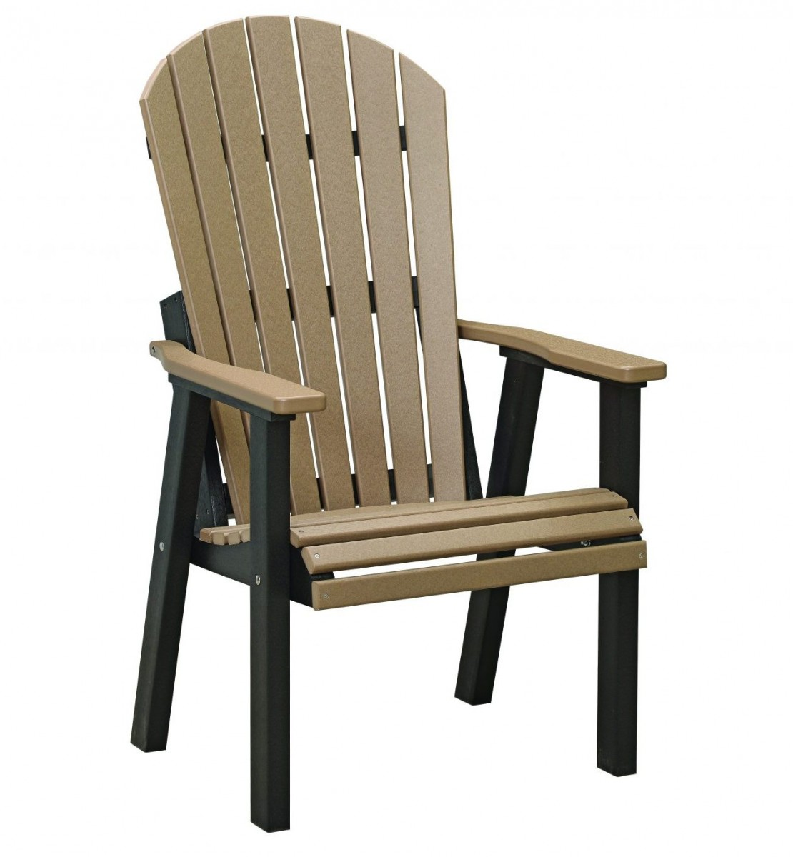 Berlin Gardens Comfo-Back Natural Finish Deck Chair