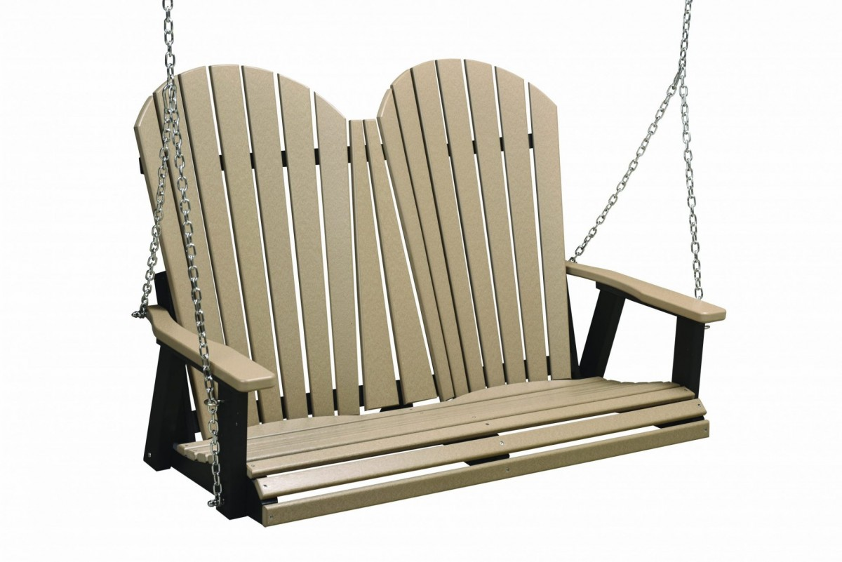 Berlin Gardens Poly Comfo-Back Double Porch Swing