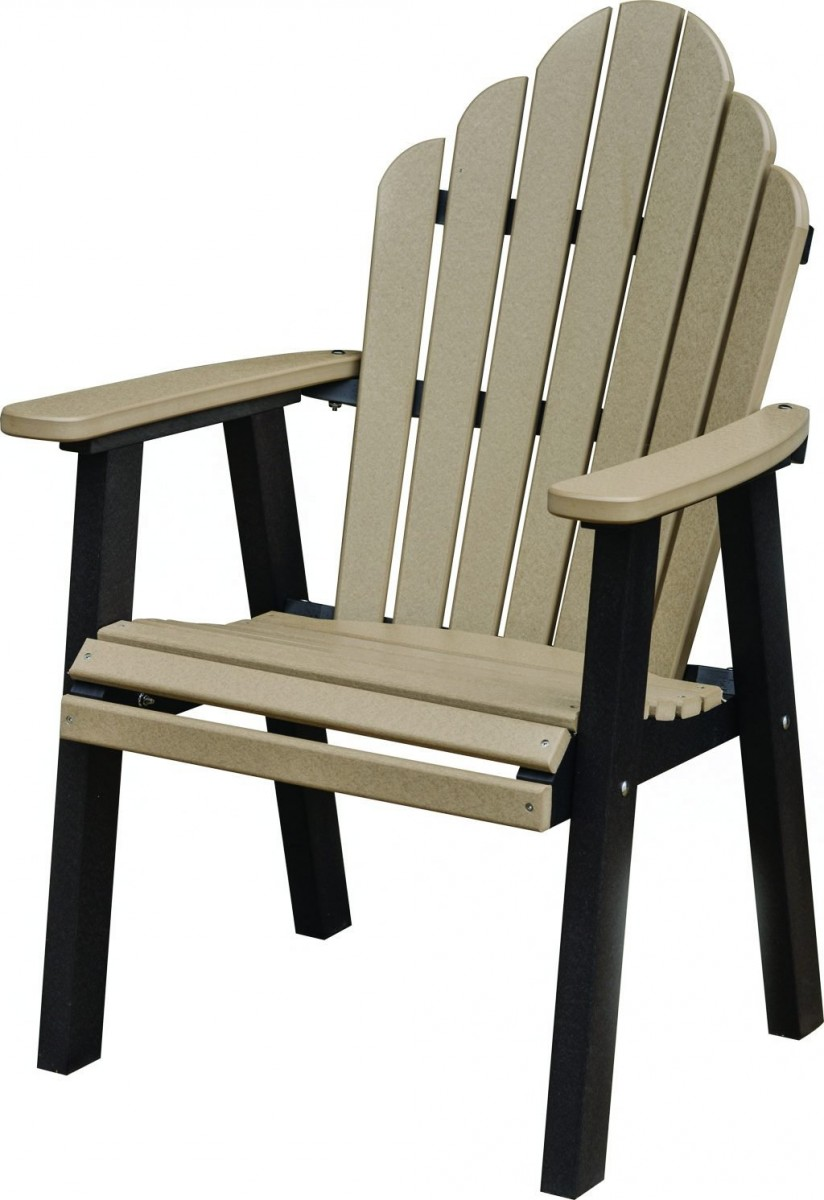 Berlin Gardens Cozi Back Poly Dining Chair
