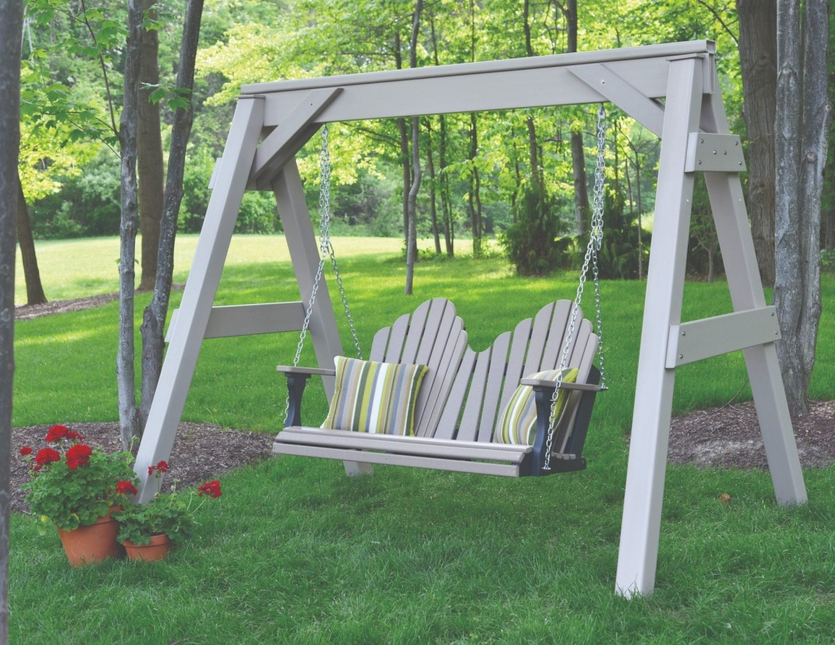 Berlin Gardens Poly Cozi Back Porch Swing