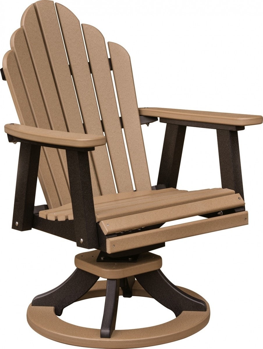 Berlin Gardens Poly Cozi Back Swivel Rocker Dining Chair