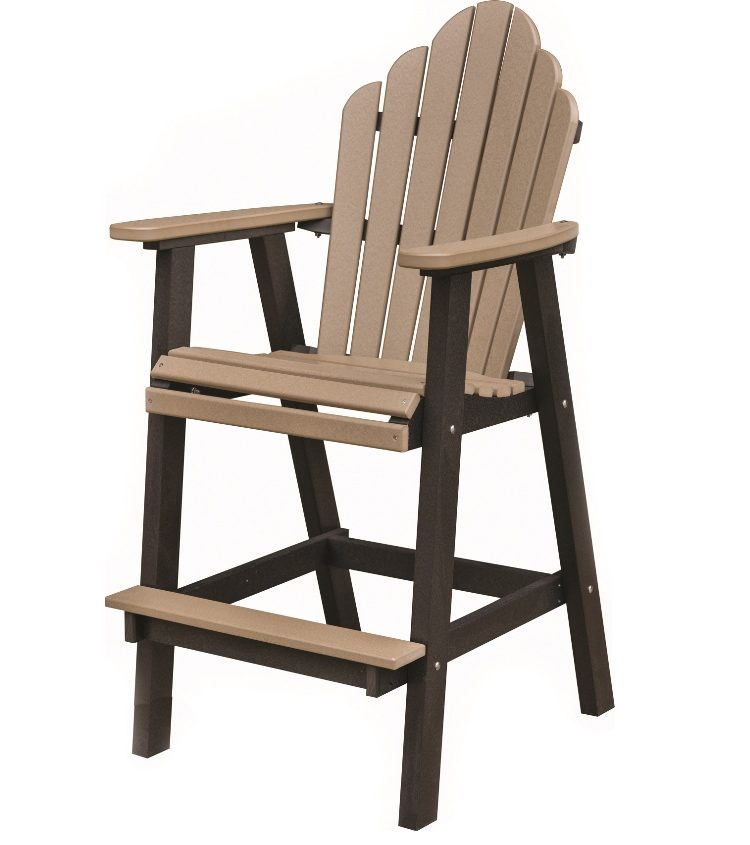 Berlin Gardens Poly Cozi Back XT Chair