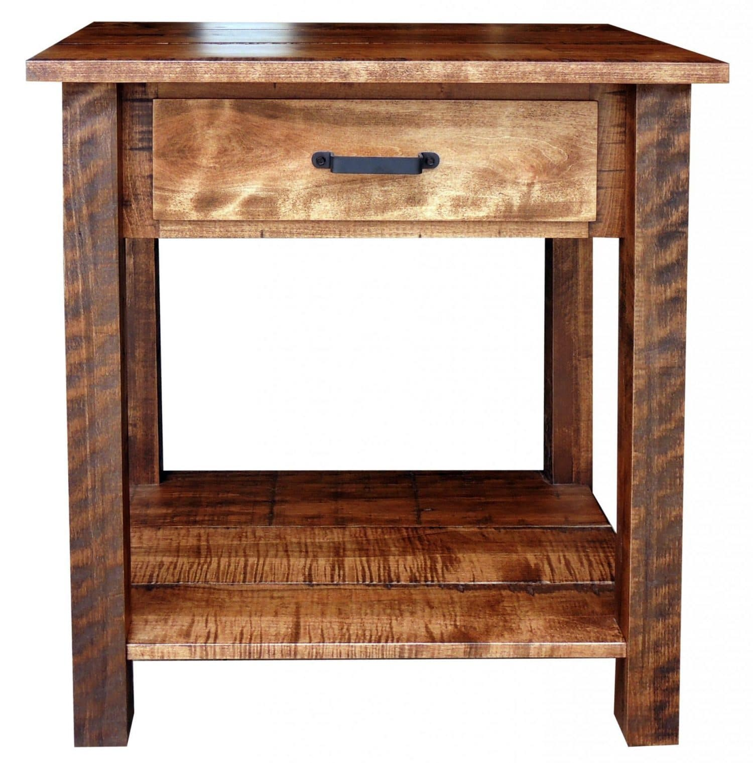 Timberline Rustic Night Stand Or End Table