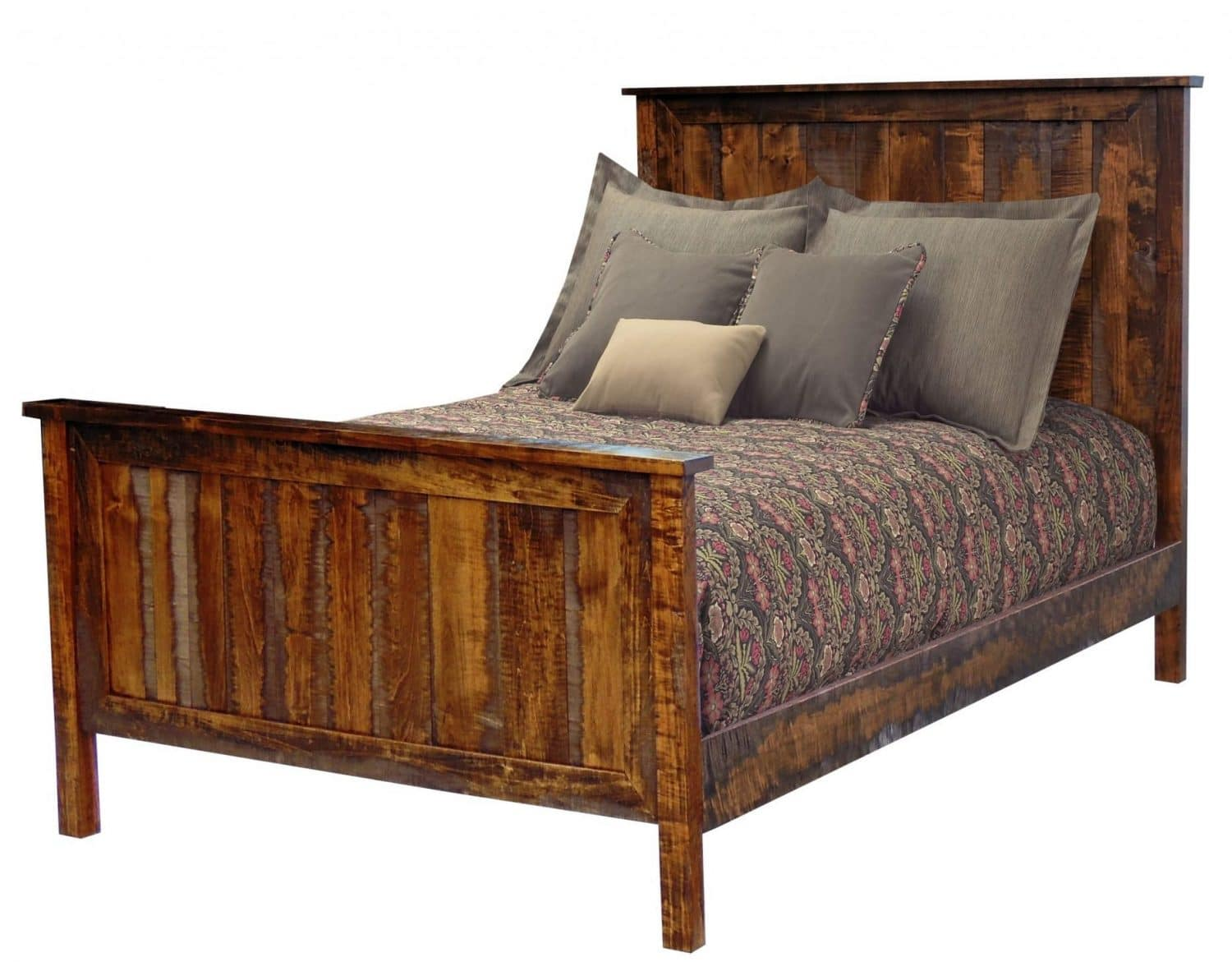 Timberline Panel Bed In Rough-Sawn Maple