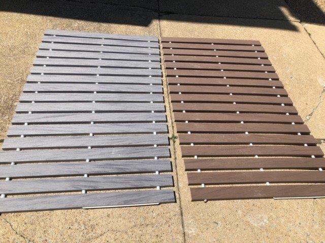 Roll-Out Walkway In PVC Plastic Deck Board – 2 Colors Available