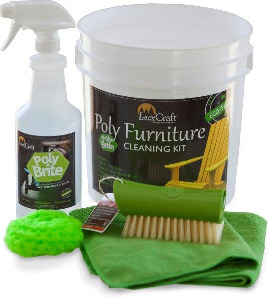 Poly Brite Cleaner For Poly Lumber Recycled Plastic Furniture
