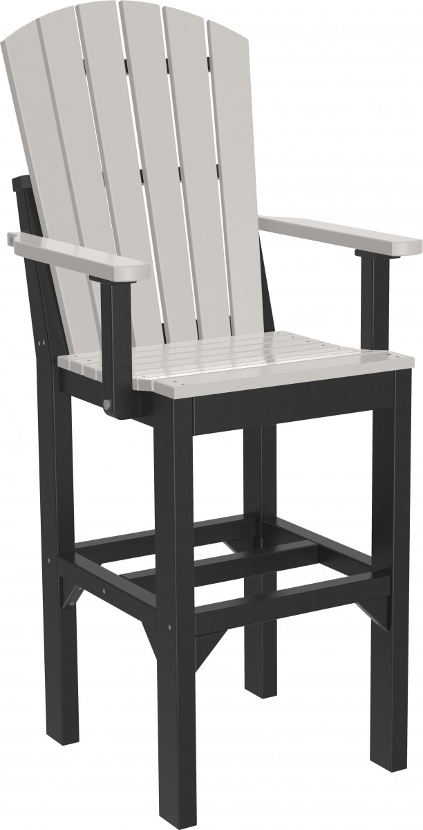 Luxcraft Poly Outdoor Adirondack Arm Chair Set Of 4 – Bar, Counter, Or Dining Height (Copy)