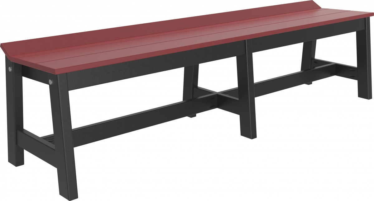 Luxcraft Outdoor Poly 72″ Cafe Dining Bench