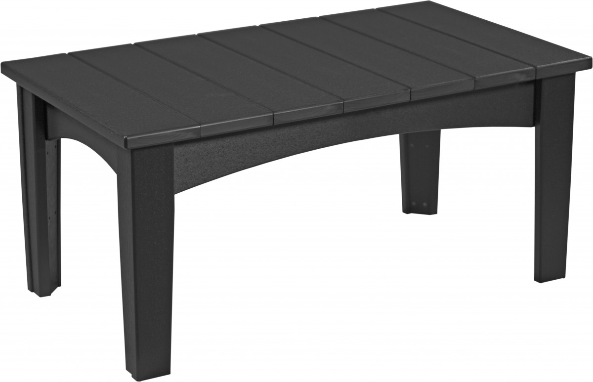 Luxcraft Island Coffee Table In  Recycled Plastic
