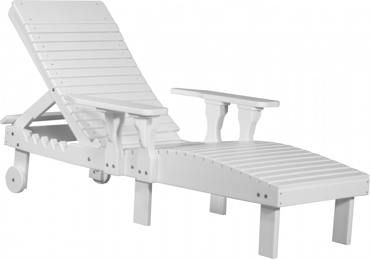 Luxcraft Chaise Lounge Chair In Premium Recycled Plastic