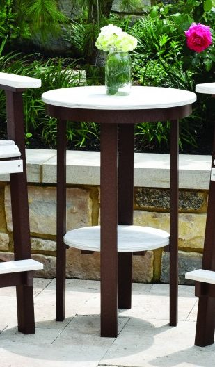 Berlin Gardens Natural Finish Round End Table
