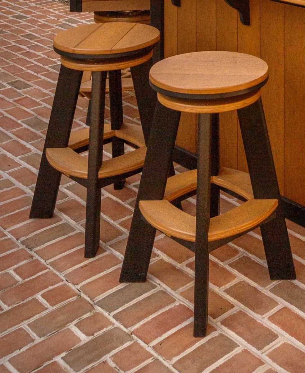 Finch Great Bay Swivel Stool-Counter Or Bar Height